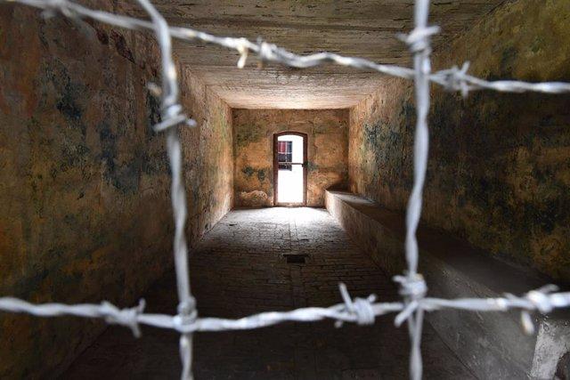 Imagen de archivo de un campo de concentración nazi.