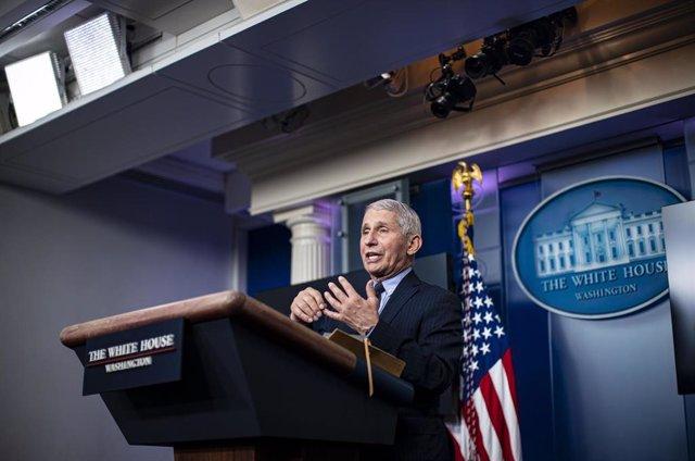 El principal epidemiólogo del Gobierno de Estados Unidos, Anthony Fauci.