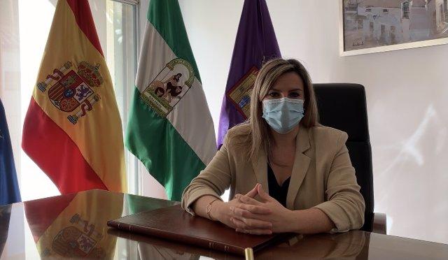 Dolores Marín, alcaldesa de Baeza