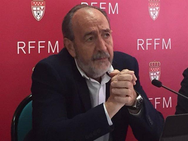 Paco Díez, presidente de la RFFM