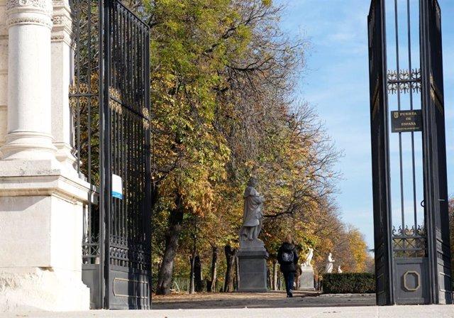 Imagen de el madrileño parque de El Retiro.