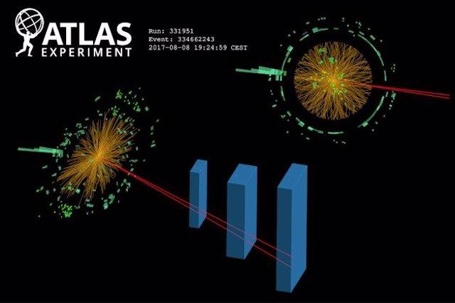 Experimento de descomposición relacionado con el bosón de Higgs