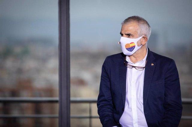 El candidat de Cs a la presidència de la Generalitat de Catalunya, Carlos Carrizosa.
