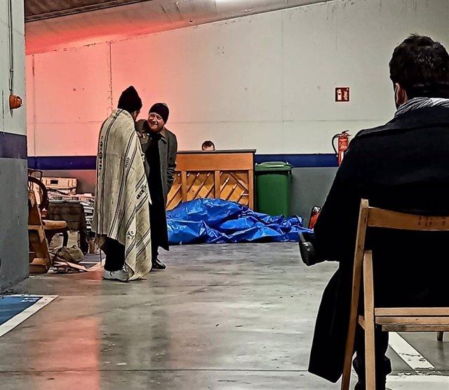 Una compañía de teatro riojana actúa en Actual 2021
