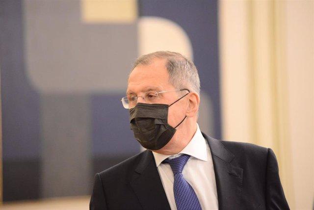 Sergei Lavrov, ministro de Exteriores de Rusia