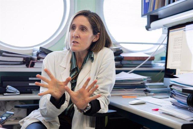 La viróloga Isabel Sola, del Centro Nacional de Biotecnología del CSIC (CNB-CSIC). /