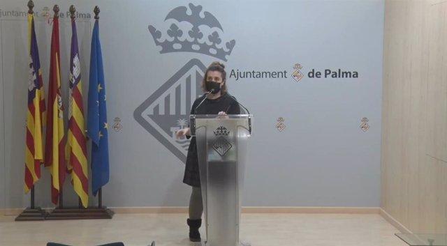 La coordinadora de Benestar Social, Catalina Trobat.