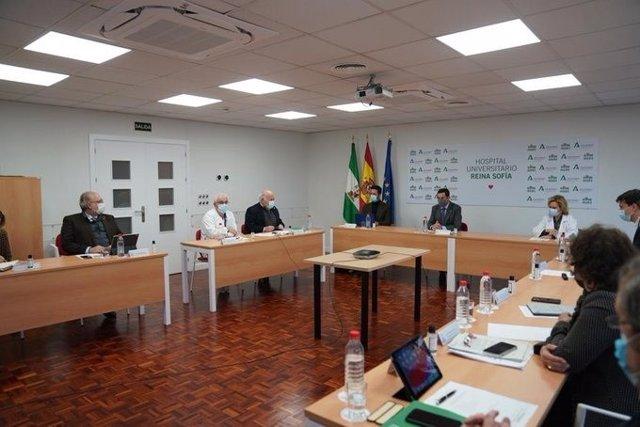 Juanma Moreno preside en Córdoba la reunión del Comité de expertos, este miércoles