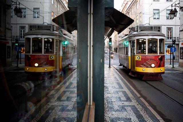 (Tranvía en Lisboa
