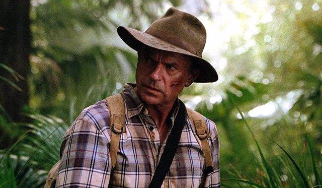 Sam Neill en la saga Jurassic Park