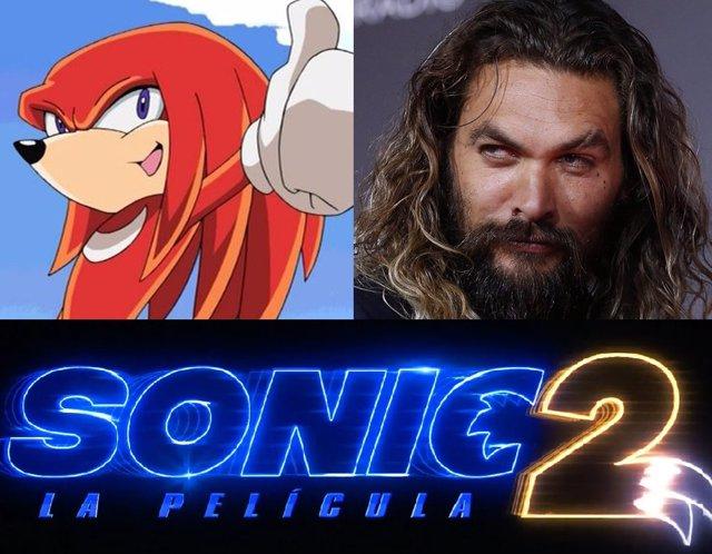 Sonic 2 estrena logo y ¿ficha a Jason Momoa?