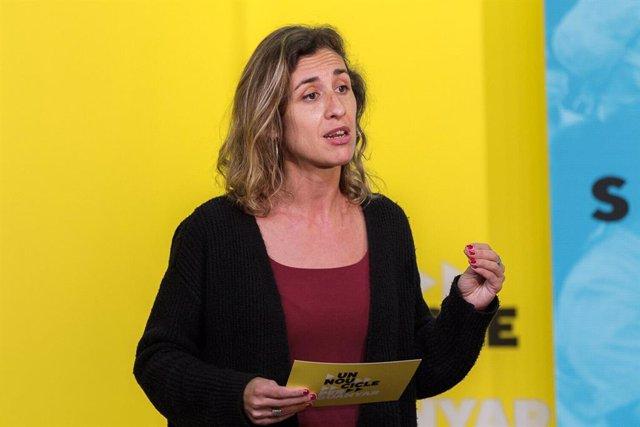 La candidata de la CUP per Tarragona, Laia Estrada