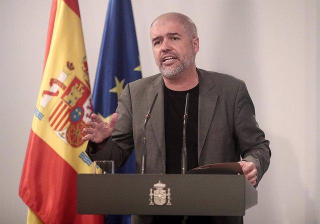 El secretari general de CCOO, Unai Sordo.