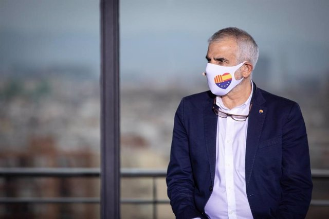 El candidat de Cs a la presidència de la Generalitat, Carlos Carrizosa