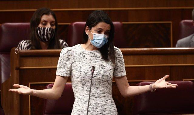 La presidenta de Cs, Inés Arrimadas
