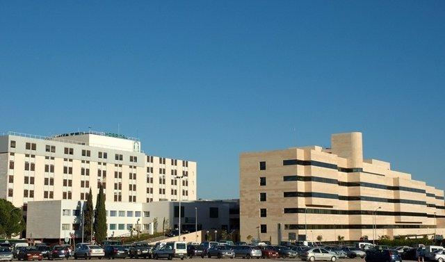 Perspectiva general del Hospital Reina Sofia de Córdoba.