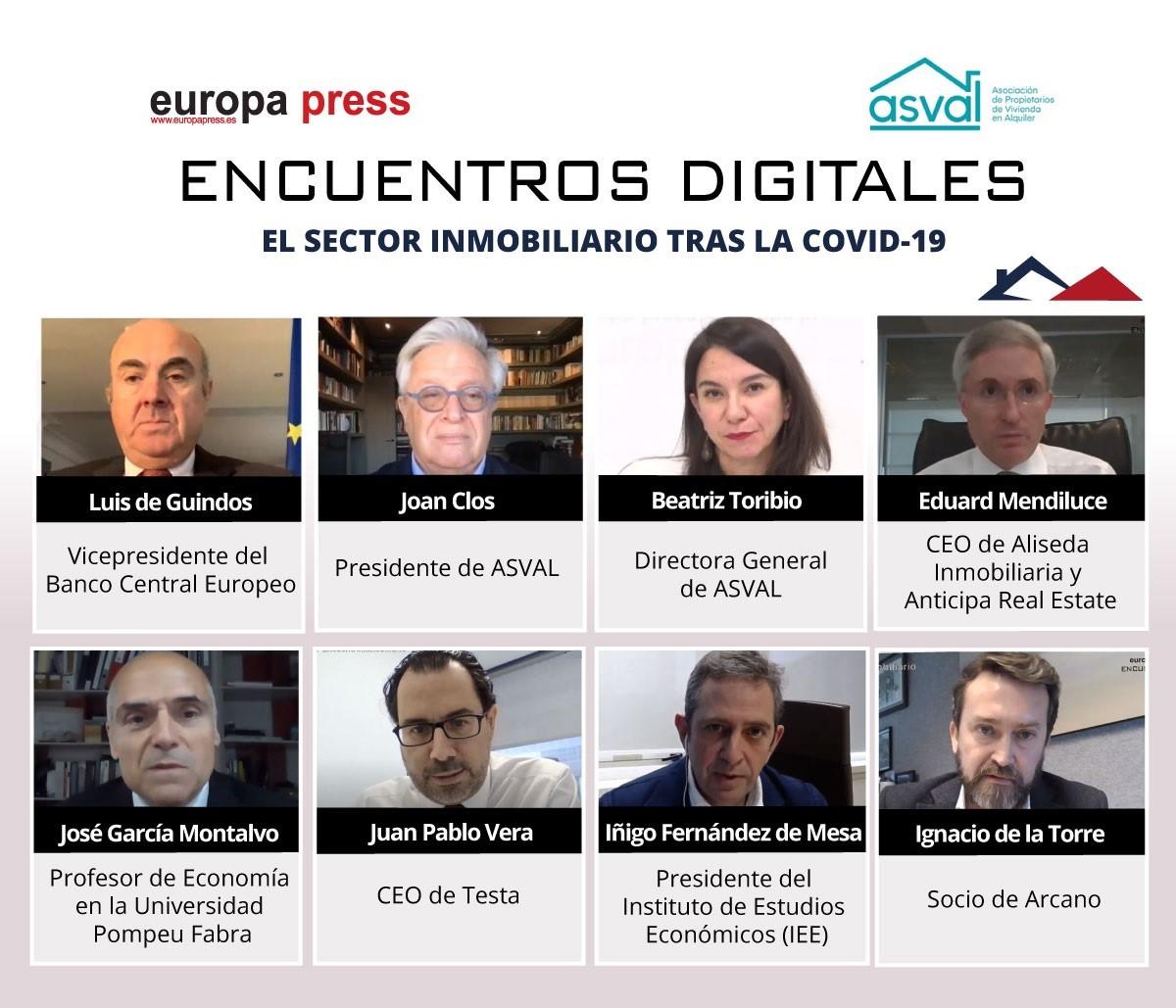 Encuentros digitales Europa Press. El sector inmobiliario tras la Covid-19