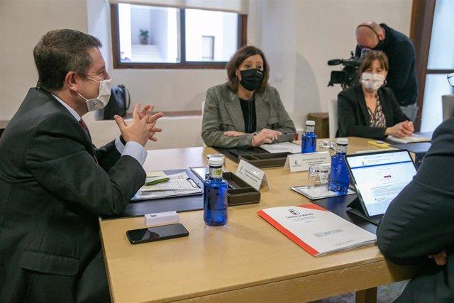 El presidente de Castilla-La Mancha, Emiliano García-Page, en el Consejo de Gobierno del 11 de febrero
