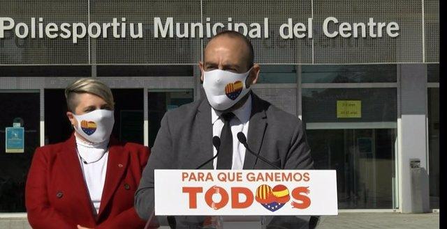 L'eurodiputat de Cs, Jordi Cañas