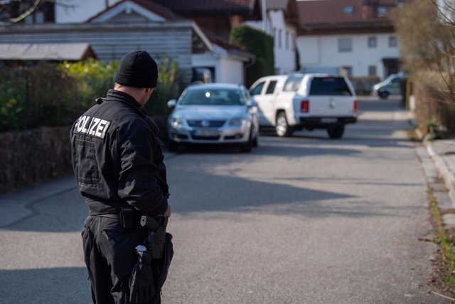 Policía en Baviera, Alemania