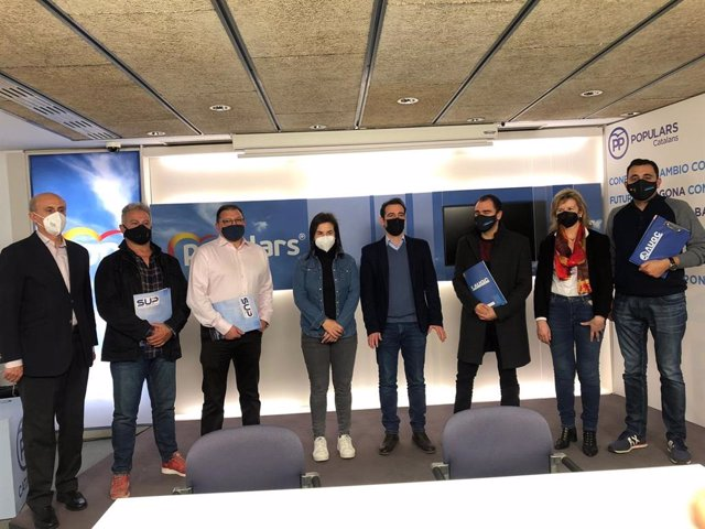 """Representantes de SUP y AUGC piden al PP que respalde medidas a favor de los agentes en Cataluña, frente a la """"campaña de señalamientos y acoso"""""""