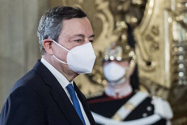 El expresidente del Banco Central Europeo Mario Draghi.