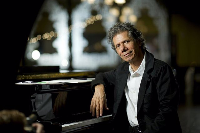 El legendario pianista Chick Corea.