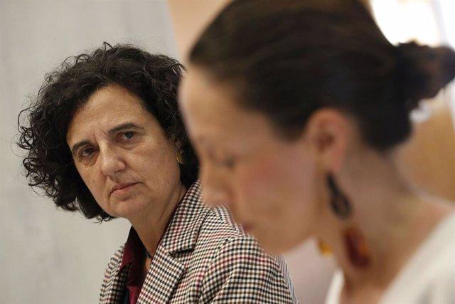 La consejera de Cultura, Berta Piñán.