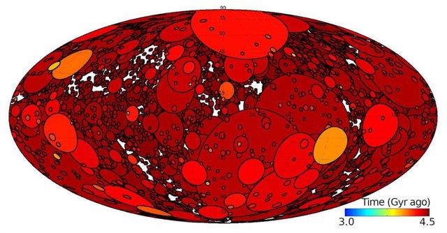 Evolución hipotética para un Marte temprano azotado por los impactos cósmicos