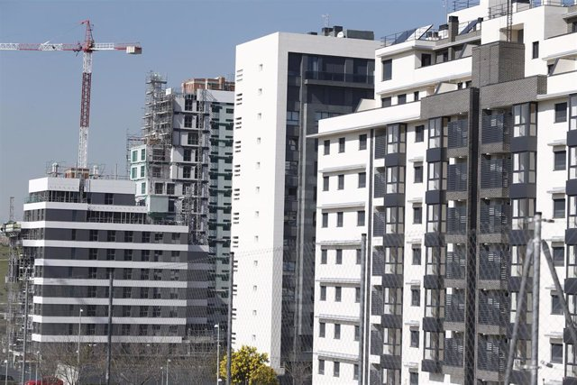Piso, pisos, vivienda, viviendas, casa, casas, alquiler, compra, hipoteca, hipotecas, euribor, construcción, grúa, grúas
