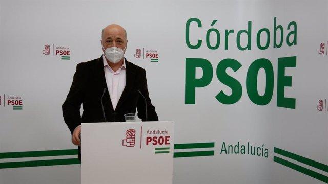 El presidente de la Diputación y secretario general del PSOE de Córdoba, Antonio Ruiz.