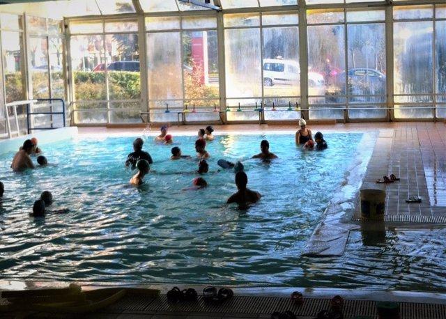 Imagen de una de las piscinas climatizadas de la provincia de Palencia.