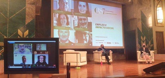 """El presidente de Auren, en Congreso de RS: """"La RSC debe comenzar mirando hacia dentro, hacia trabajadores de la empresa""""."""