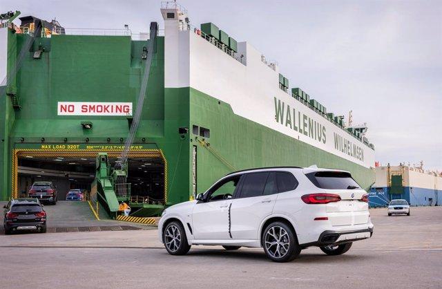 Exportación de vehículos.