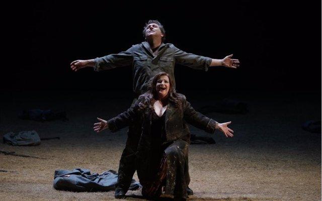 Ensayo de 'Sigfried' en el Teatro Real