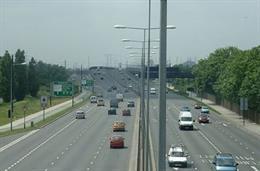 La autopista A-13 de Londres, Iridium (ACS)