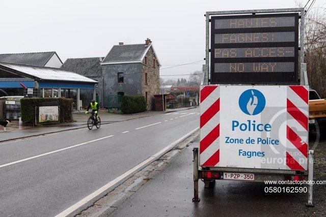Imagen der archivo de la Policía de Bélgica.