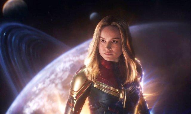Brie Larson es Capitana Marvel en Vengadores: Endgame