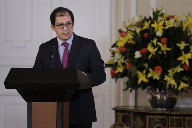 El fiscal general de Colombia, Francisco Barbosa.