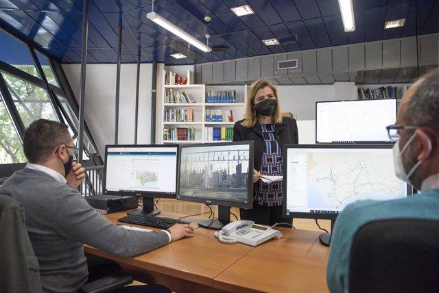 Labores en el Centro de Evaluación y Seguimiento Energético de Andalucía (Cesea)