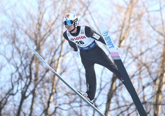 Competición de esquí en Polonia