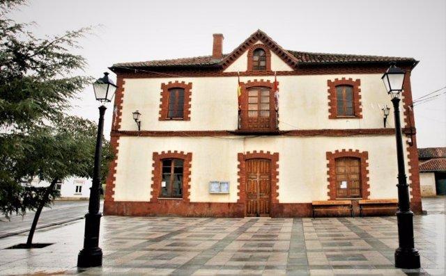 Ayuntamiento de la localidad palentina de Puebla de Valdavia.