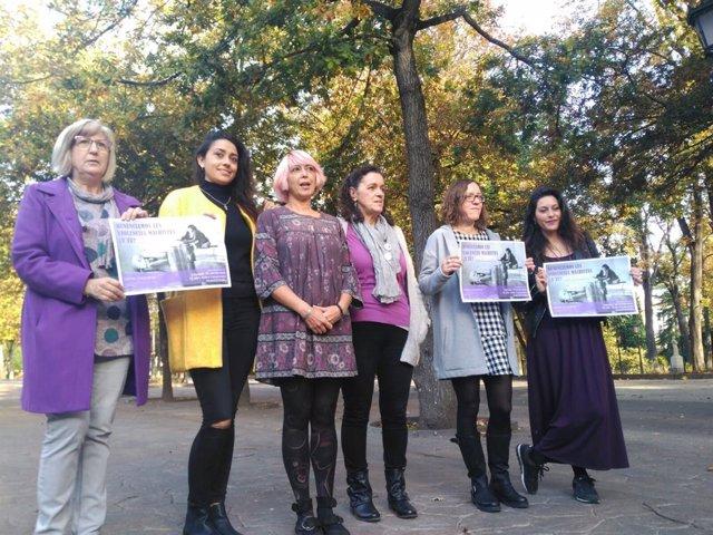 Imagen de archivo de la Plataforma Feminista de Asturias