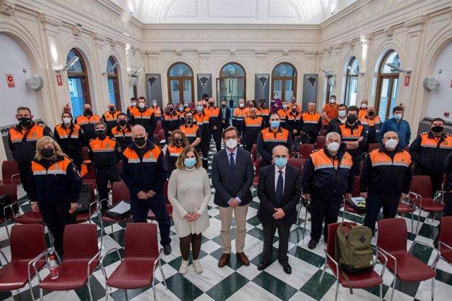 Jornadas formativas dirigidas al voluntariado de Protección Civil de la provincia de Granada