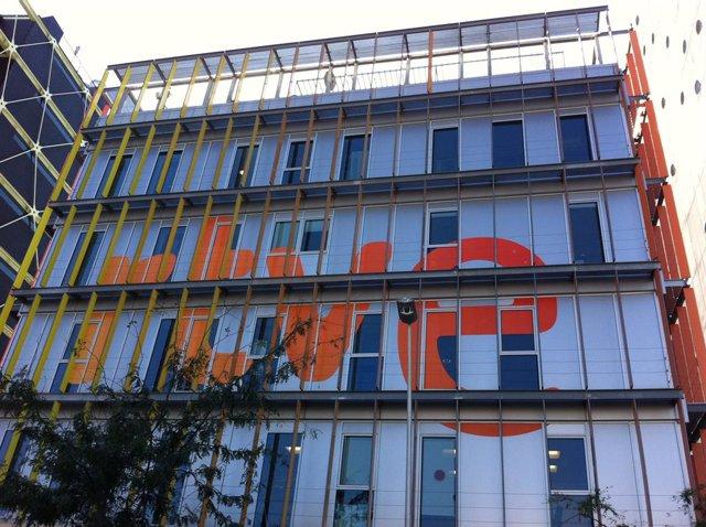 Seu de RNE a Barcelona - RTVE Catalunya, al barri del 22@, districte barceloní de Sant Martí.