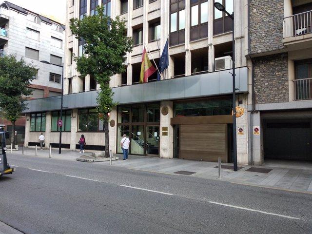 L'edifici de l'Ambaixada i Consolat General d'Espanya a Andorra
