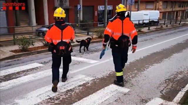 Els Bombers de la Generalitat busquen un home desaparegut a Banyoles (Girona)