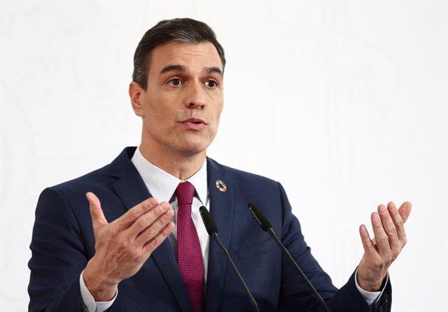 El president del Govern espanyol, Pedro Sánchez, en una foto d'arxiu