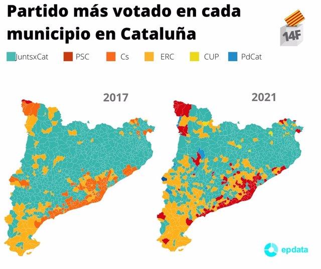 Resultado de imagen de elecciones cataluña
