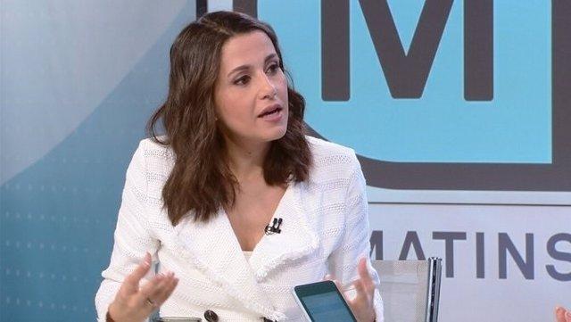 Inés Arrimadas a TV3